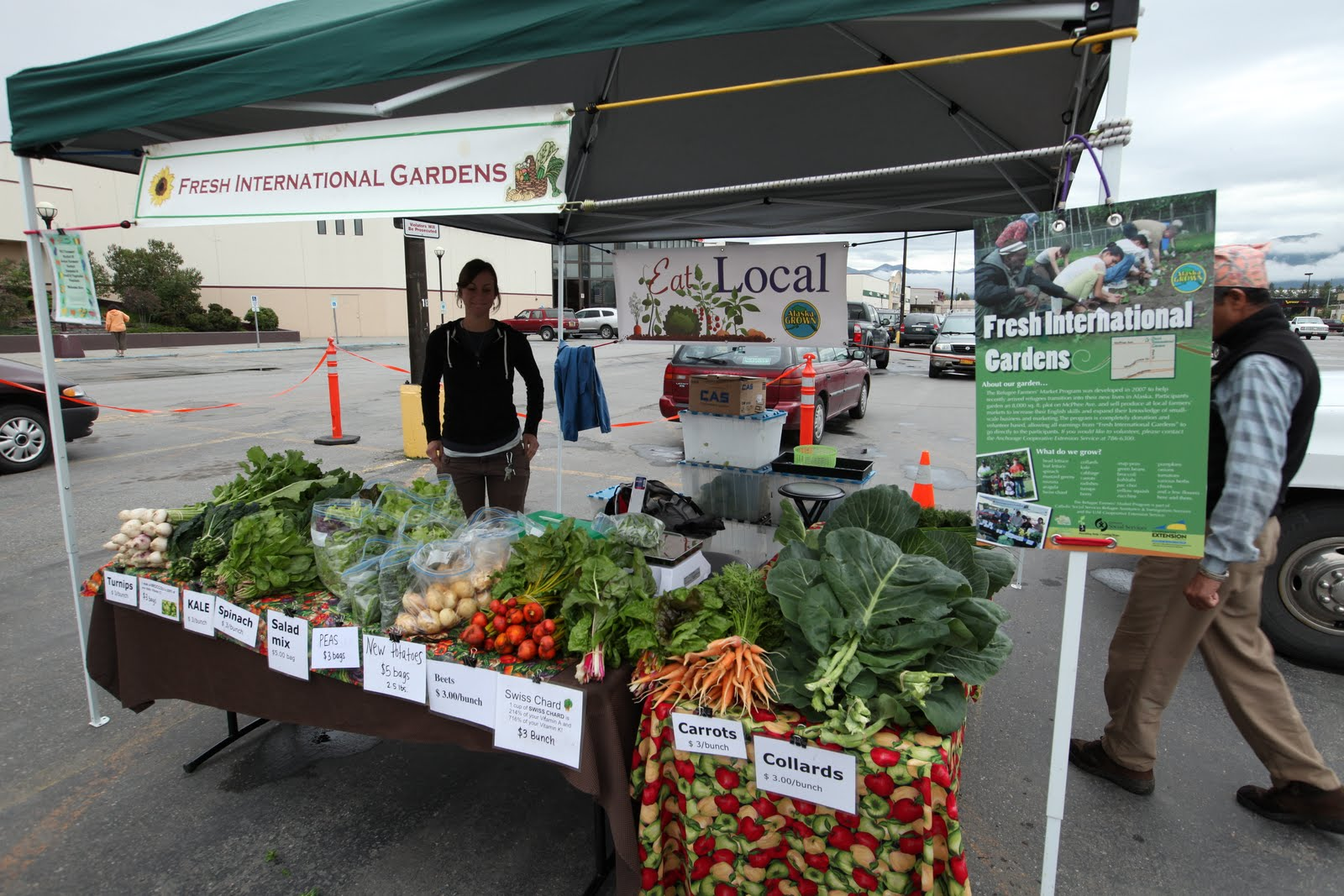 Alaskan Farmers' Markets + Fresh International Gardens ...