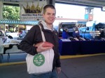 Showing off the RTF tote